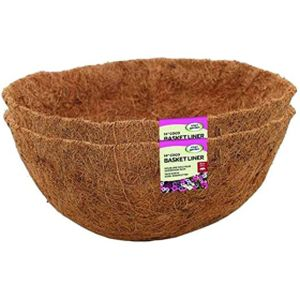 "Smart 12"" Coco Basket Liner Twin Pack"
