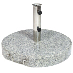 55Kg Granite Parasol Base with handle and wheels